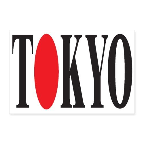 TOKYO 3 2 UK 01 - Poster 36 x 24 (90x60 cm)