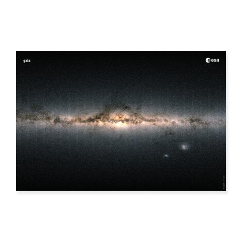 Gaia - Colour of the sky - Poster 36 x 24 (90x60 cm)