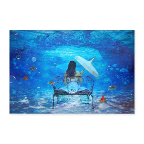 Gedankentiefe - Poster 90x60 cm