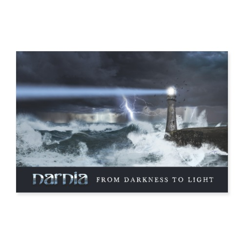 Narnia - From Darkness to Light - Records - Poster 36 x 24 (90x60 cm)
