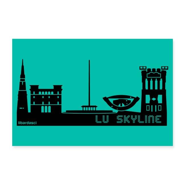 Poster: Lu Skyline petrolio