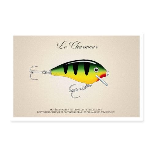 Poisson Nageur - Le Charmeur - Poster 90 x 60 cm