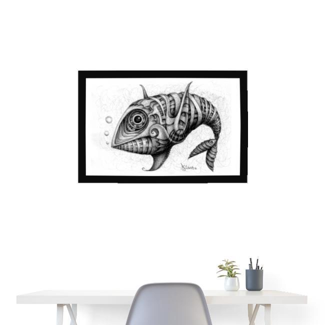 Pesce & Fish Poster