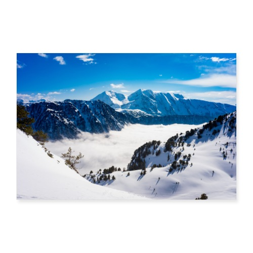 Montagne - Poster 90 x 60 cm