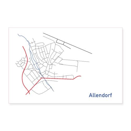 Allendorf II - Poster 90x60 cm