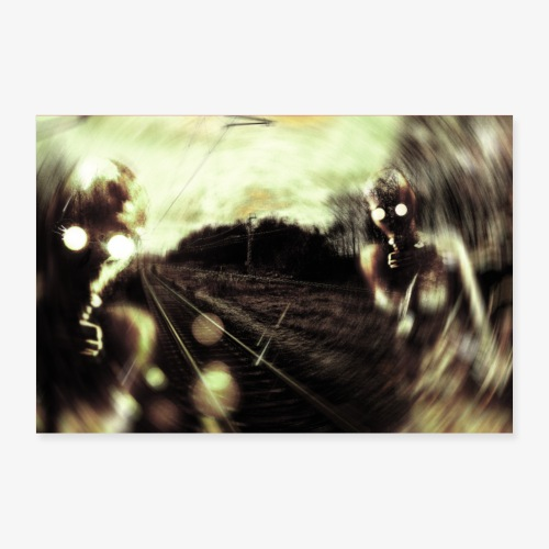 Breath - Poster 90 x 60 cm