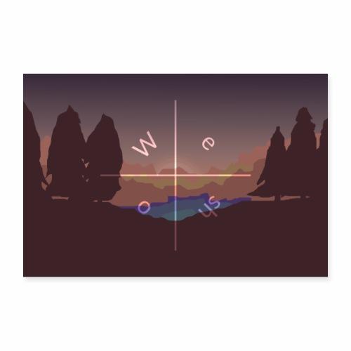 WeSho-Merge - Poster 90x60 cm