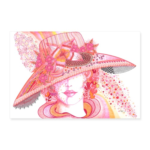 Lily Poster - Poster 90x60 cm