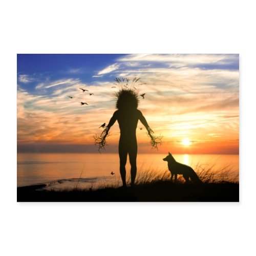 Back To Nature - Poster 90x60 cm