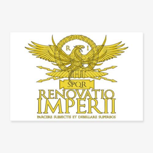 Poster Renovatio Imperii - Poster 90x60 cm