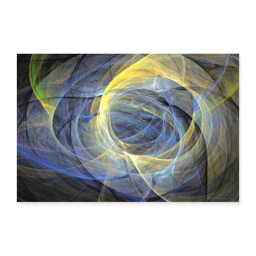 Abstrakti juliste - Delightful mood by Sipo - Juliste 90x60 cm