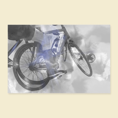 Poster   Radball   Cycle Ball 09 - Poster 90x60 cm