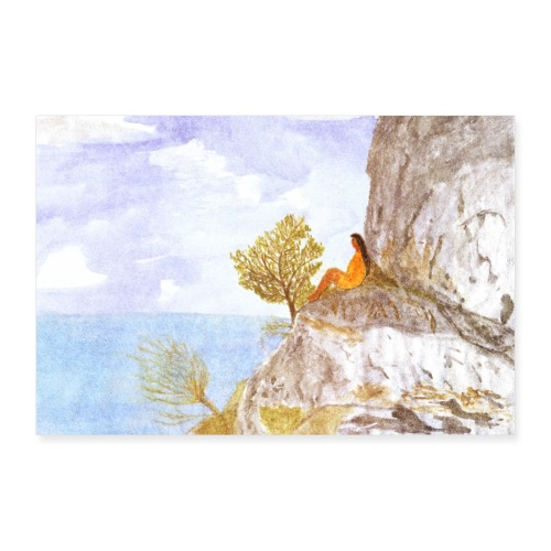 Frei | Solveig Klaus | Meer Vanlife Wohnmobil - Poster 90x60 cm