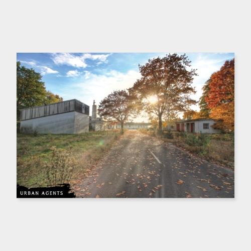 Original Fotografie Herbstlichter - Poster 90x60 cm
