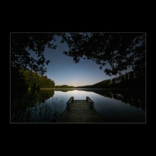 Kesäinen yö - Juliste 90x60 cm