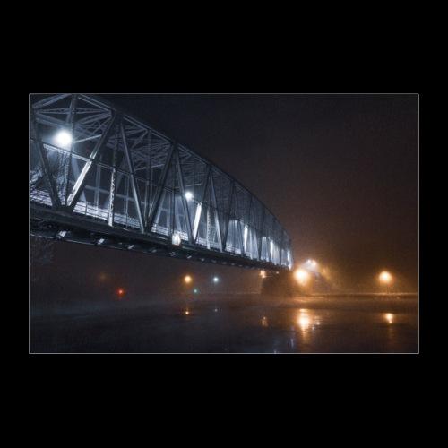 Savonlinnan vanha silta - Juliste 90x60 cm