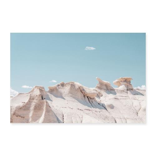 White Rocks - Poster 90x60 cm