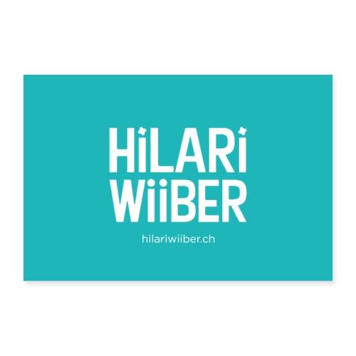 Hilari Wiiber Plakat - Poster 90x60 cm