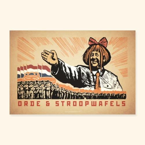 Mymy Zedong - Poster 90x60 cm