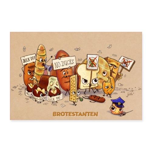 Brotestanten - Poster 90x60 cm