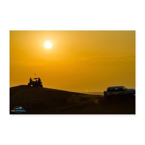 SuK Bild - Landausflug in Dubai -Jeepsafari - Poster 90x60 cm