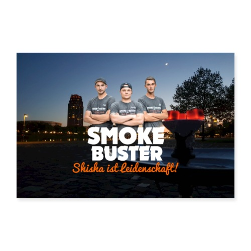 SmokeBuster True Face - Poster 90x60 cm