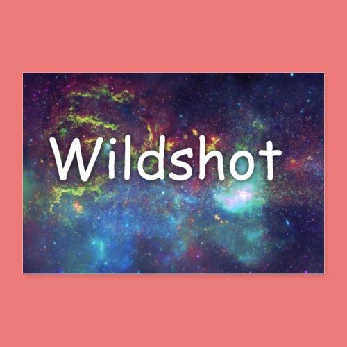 wildshot poster - Poster 36 x 24 (90x60 cm)
