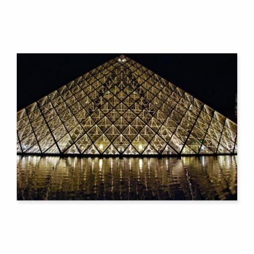 Le Louvre - Poster 90 x 60 cm