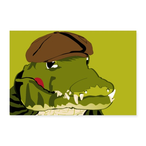 Krokodil - Poster 90x60 cm