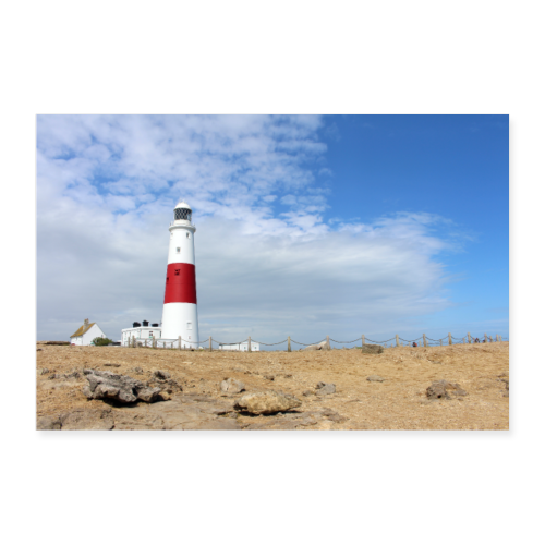 Portland Bill Lighthouse - Poster 36 x 24 (90x60 cm)