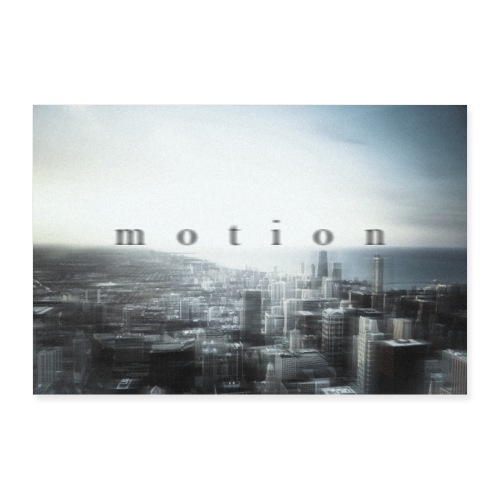 Motion - Poster 90x60 cm