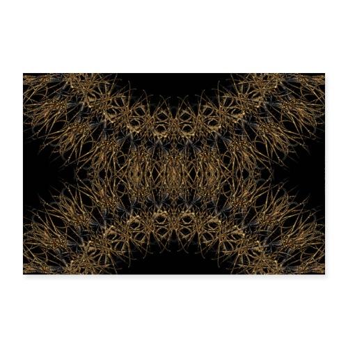 dark gold 2 - Poster 90x60 cm