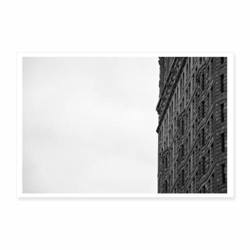 Flat Iron Building Manhattan NYC - Poster 90x60 cm