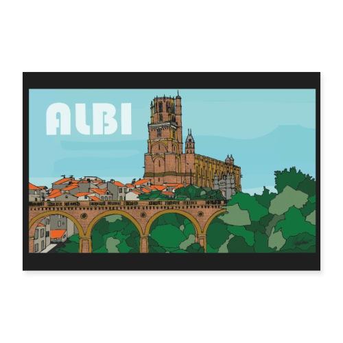 Cathédrale Sainte Cécile d'Albi - Poster 90 x 60 cm