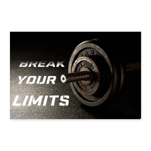 Fitness - Poster 90x60 cm