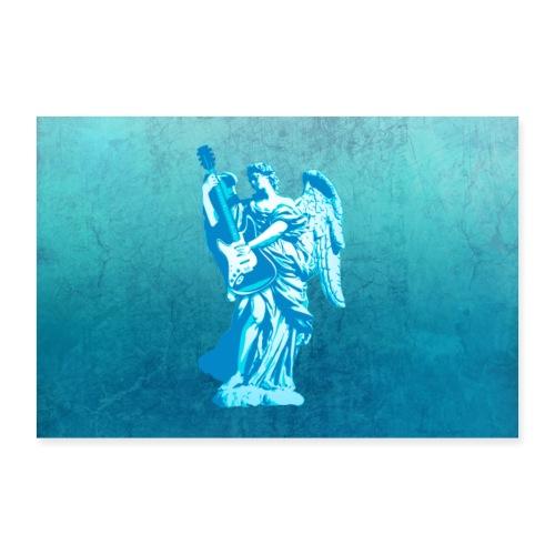 Liggende Engel - Poster 90x60 cm