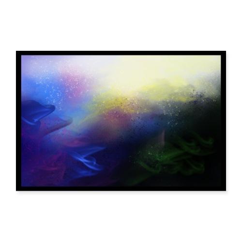 Galaxy2 Poster - Poster 36 x 24 (90x60 cm)