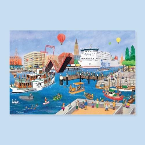 Kieler Hörn - Poster 30x20 cm