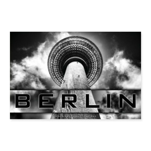 Berlin Fernsehturm - Jeans Brown Photography - Poster 30x20 cm