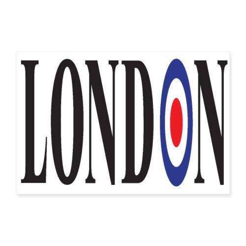 LONDON 3 2 UK 01 - Poster 12 x 8 (30x20 cm)