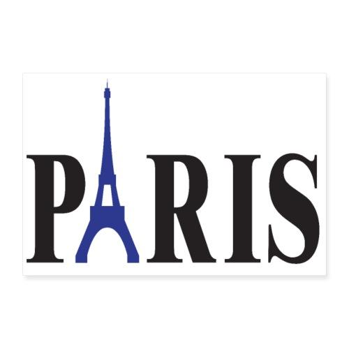 PARIS 3 2 UK 01 - Poster 12 x 8 (30x20 cm)