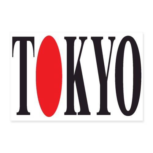 TOKYO 3 2 UK 01 - Poster 12 x 8 (30x20 cm)