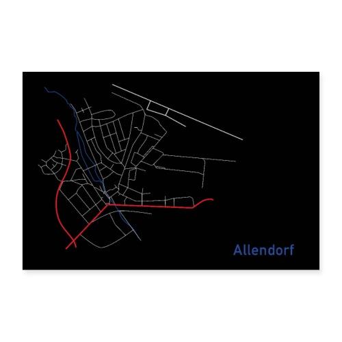 Allendorf I - Poster 30x20 cm