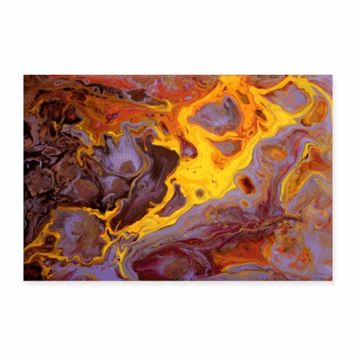 Flames - Poster 30x20 cm