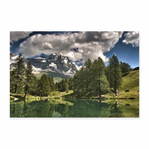 Matterhorn von Süden - Poster 30x20 cm