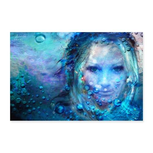 Farbphantasien - Geborgenheit - - Poster 30x20 cm