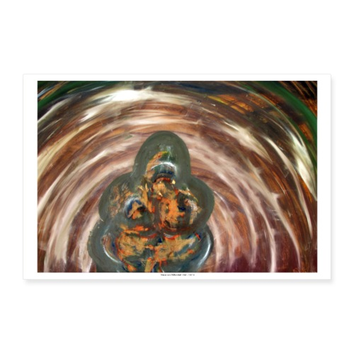 Venus 1,Venus von Willendorf 1986 / 2018 - Poster 30x20 cm