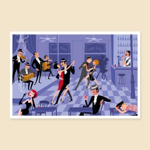 Tango Bar Posters - Poster 12 x 8 (30x20 cm)
