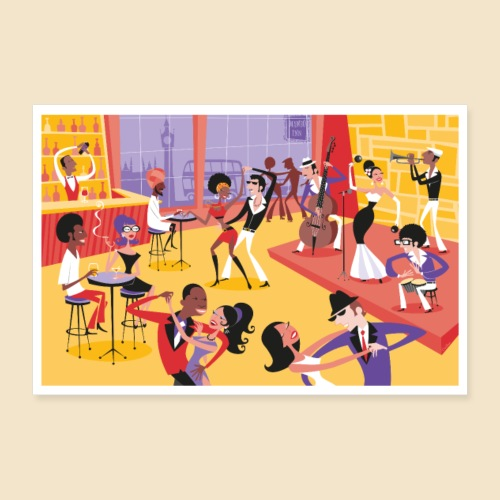 Mambo Party Poster - Poster 12 x 8 (30x20 cm)