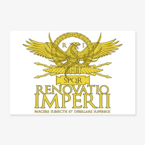 Poster Renovatio Imperii - Poster 30x20 cm